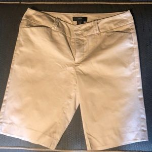 Size 10 Women's Mossimo Fit 3 khaki Bermuda shorts